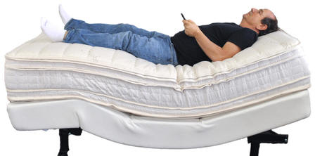 los angeles latex mattess adjustable beds la