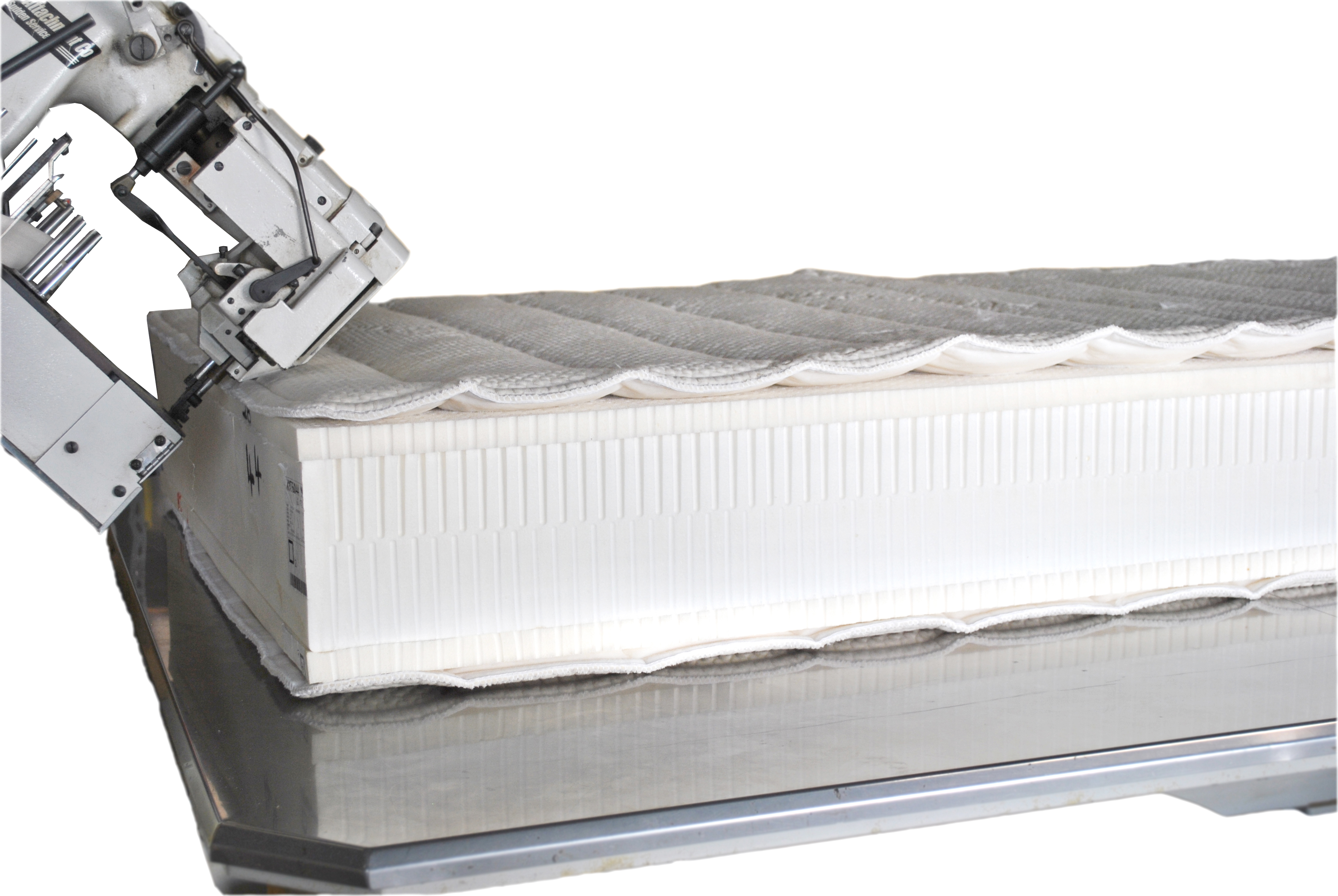Adjustable latex mattress
