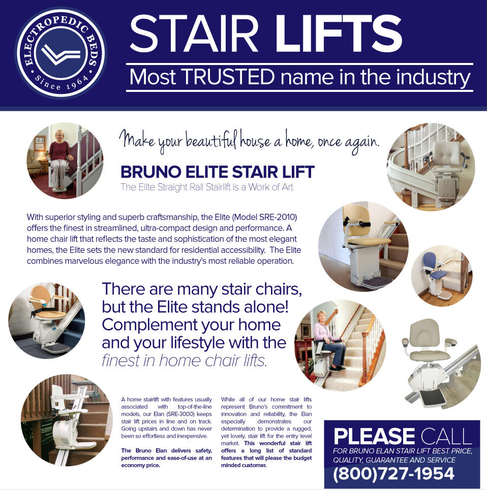 bruno Temecula stairlifts ca  acorn stair lifts