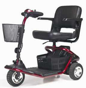 golden 4 wheeled four lite rider mobility scooters