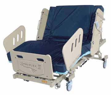 tri-flex II by burke bariatric beds 1000 pound weight capacity
