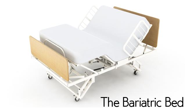 Adjustable bed bariatric heavy duty