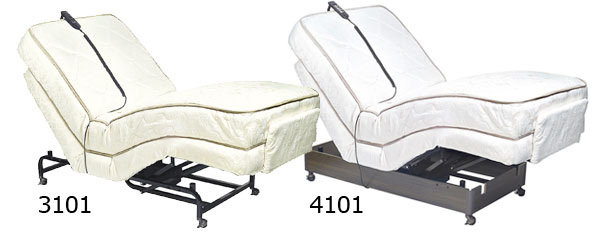 Customize your fort with a Golden Adjustable Electric Bed
