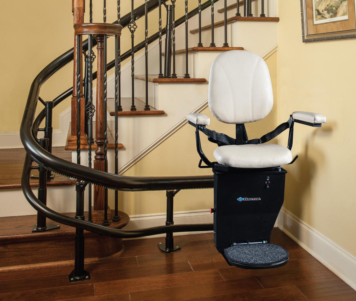 SAN FRANCISCO Helix Stairway Staircase San Jose Custom Curved Stair Lift Oakl