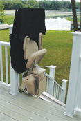 bruno outdoor stair lift