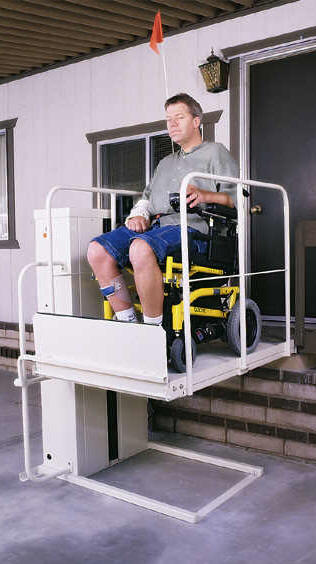 Wheelchair Elevators  -  Wheel Chair Lift