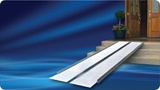 modular portable lightweight aluminum ramps
