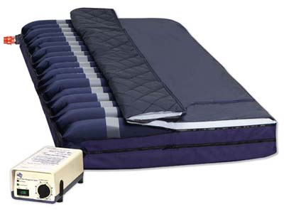 Alternating Pressure Mattress with foam base Model 4300  -  Rapid-Air Plus Model 4300