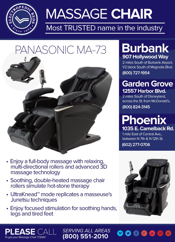 Los Angeles Massage Chair Price How Much EPMA73KU