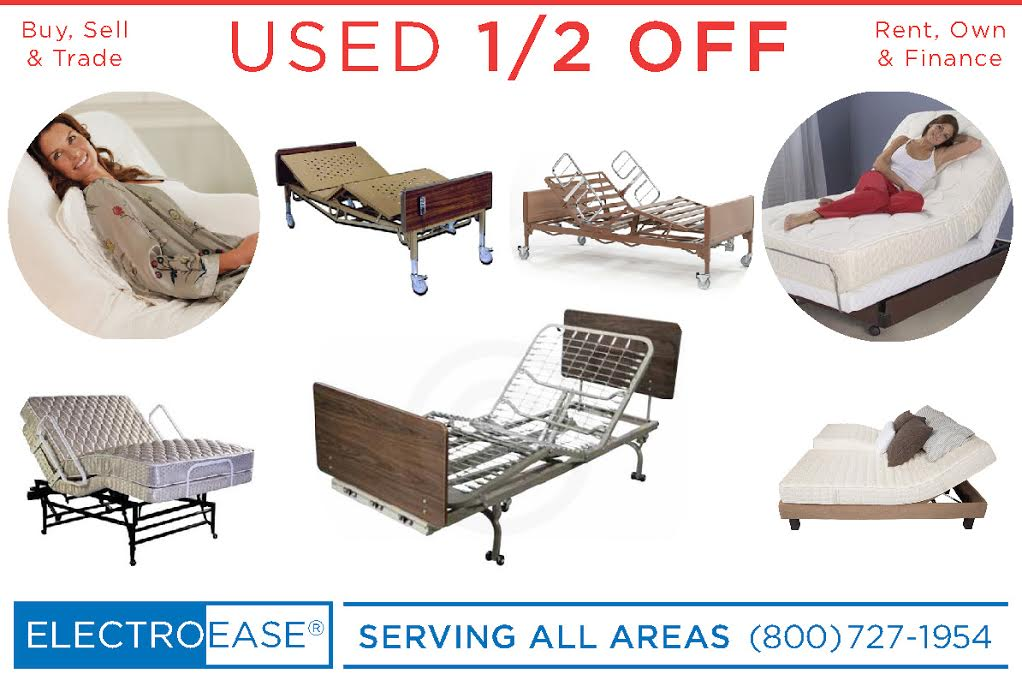 Used Hospital Beds  sc 1 st  Latexpedic & Used Electric Adjustable Beds Discount Lift Chairs Cheap Mobility ...