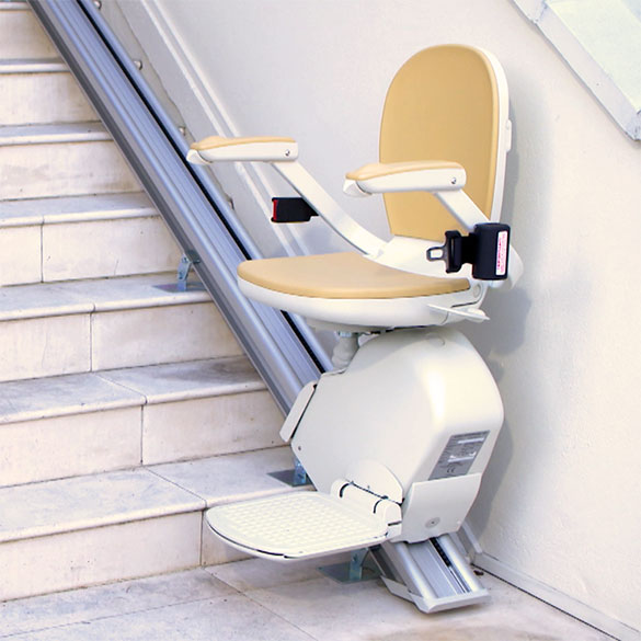 PHOENIX indoor home residential stairlift and outdoor exterior outside stair lifts  sc 1 st  Latexpedic & acorn 130 stairlift PHOENIX AZ StairLifts Tempe Stair Lift Mesa ...