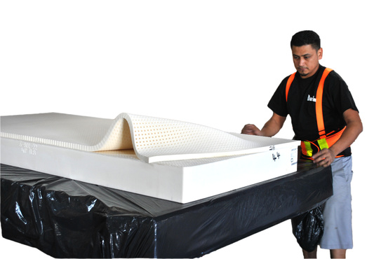 Hgh-Profile Latex Mattress factory hand crafted completely reversible