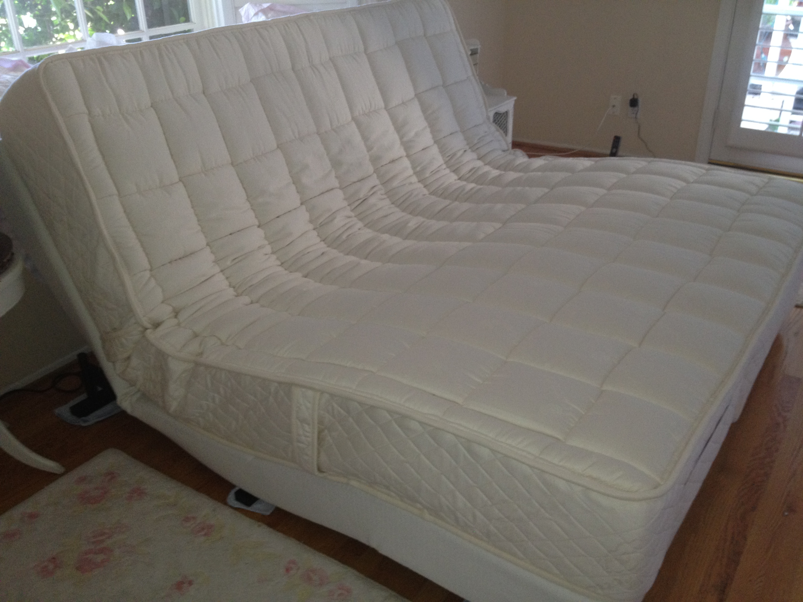 Phoenix California King Latex Mattress Adjustable Bed
