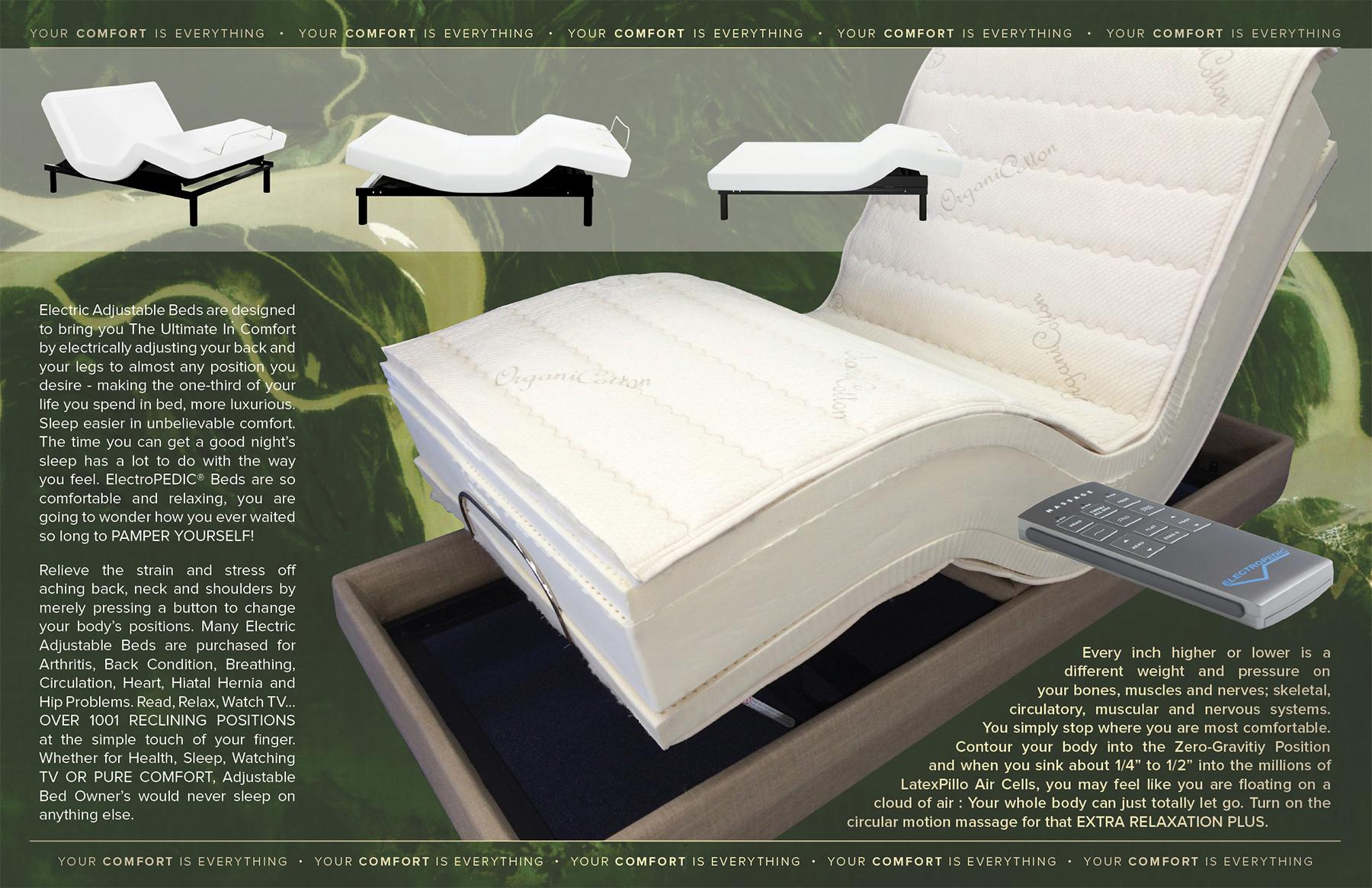 Pics Electropedic Adjule Bed Brochure Latexpedic Phoenix