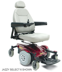 used Electric Wheelchair Pride Jazzy Power Chairs