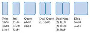 adjustable bed sizes