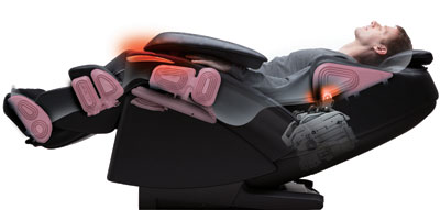 Used Massage Chair Panasonic MA73 Shiatsu epma73 seconds epma73ku cheap discount sale price top of the line best quality cost epma73 shiatsu leather inexpensive