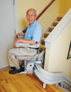 Electra-Ride III Custom Curved Rail Stairlift